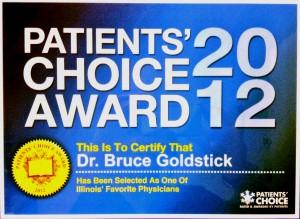 patients choice - goldstick